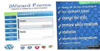 Forms jwizard creator form wordpress