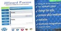 Forms jwizard creator form wordpress
