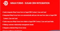 Forms ninja integration crm sugar