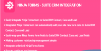 Forms ninja integration crm suite