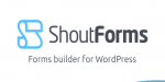 Forms shoutforms wordpress for builder