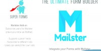 Forms super on add mailster