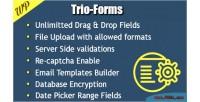 Forms trio builder forms custom