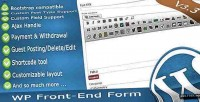 Wp frontend form multi form posting purpose