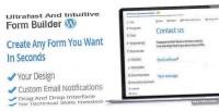 Generator form wordpress builder form contact
