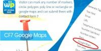 Google cf7 maps