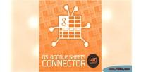 Google ns pro connector sheets