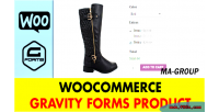 Gravity woocommerce forms product