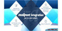 Integration mailpoet with arforms