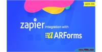 Integration zapier with arforms
