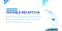 Invisible enhanced recaptcha