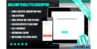Mailchimp wp panel subscription newsletter