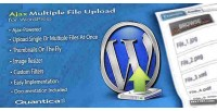 Multi ajax wordpress for upload