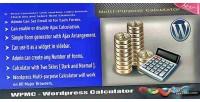 Multipurpose wordpress calculator