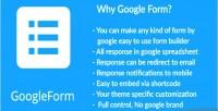 Plugin wordpress to form google embed