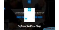 Popforms material design wordpress set forms modal