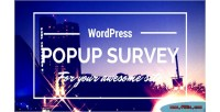 Popup wp survey