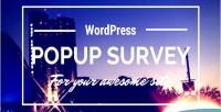Popup wp survey
