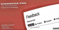 Pro usernoise modal form contact feedback