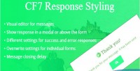 Response cf7 styling