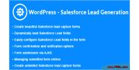 Salesforce wordpress lead wordpress generation capture lead salesforce