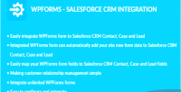 Salesforce wpforms crm integration