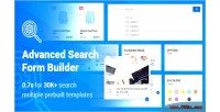 Search advanced form builder