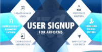 Signup user for arforms