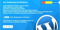 Submissions user for wordpress