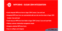 Sugar wpforms crm integration