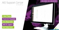 Support aio center system ticketing wordpress