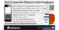 Survey modal wordpress plugin polls feedbacks