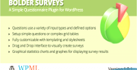 Surveys bolder for wordpress