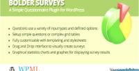 Surveys bolder for wordpress