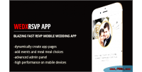 Wedding wedx rsvp app web mobile