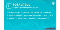 Wordpess totalpoll plugin