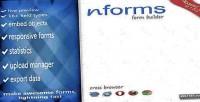 Wordpress nforms form builder