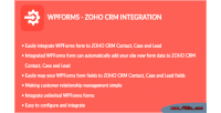 Zoho wpforms crm integration