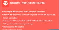 Zoho wpforms crm integration