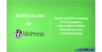 Access bbpress access forum limit