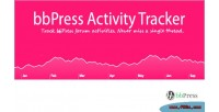 Activity bbpress tracker