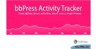 Activity bbpress tracker