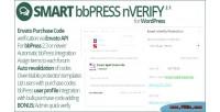 Bbpress smart nverify
