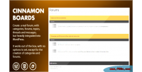 Boards cinnamon forums wordpress integrated
