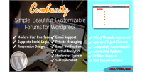 Forums simple modern powerful wordpress for forums forums