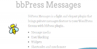 Messages private messages plugin forums bbpress for messages