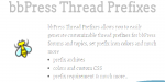 Thread bbpress prefixes
