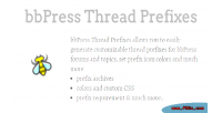 Thread bbpress prefixes