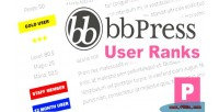 User bbpress ranks
