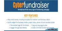 Fundraiser cyber online tool campaign fundraising